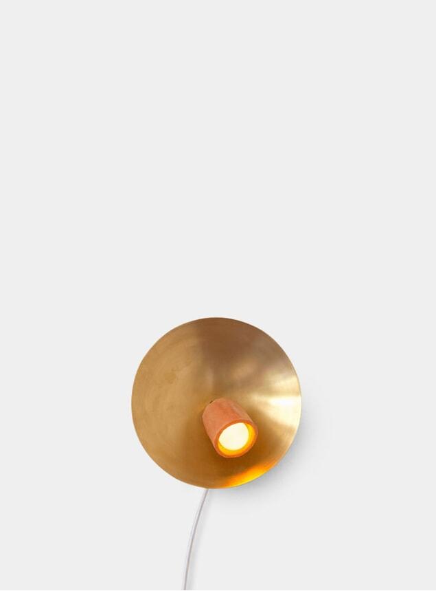 Disc Spot Sconce