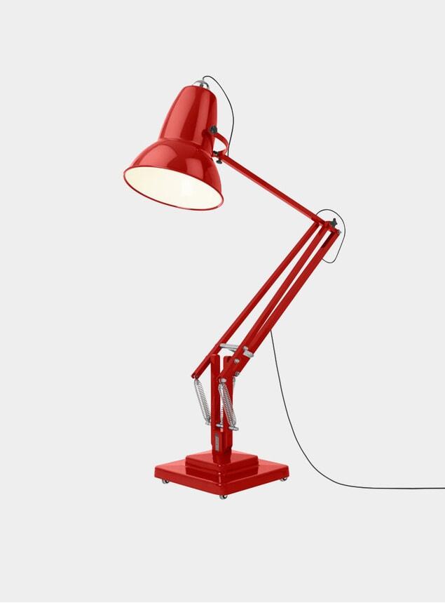 Crimson Red Original 1227 Giant Floor Lamp