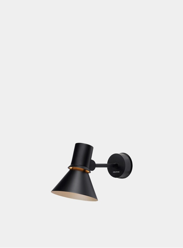 Matte Black Type 80 Wall Light