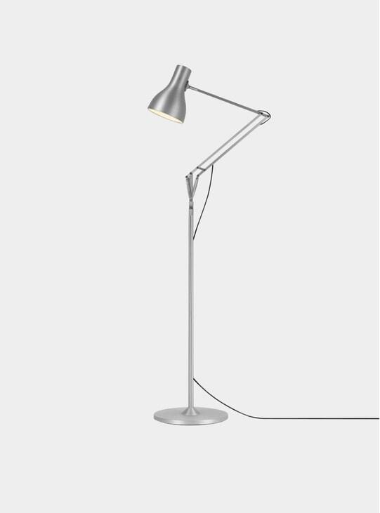 Silver Type 75 Floor Lamp