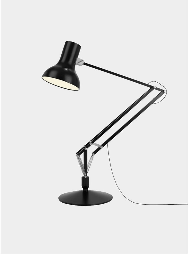Black Type 75 Giant Floor Lamp