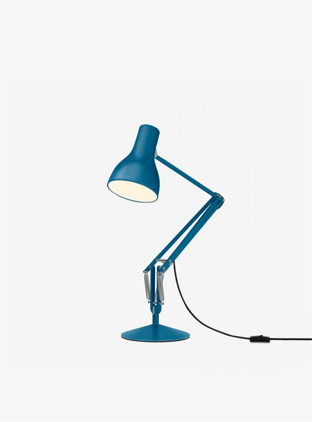 Blue MHL X Angelpoise Type 75 Desk Lamp