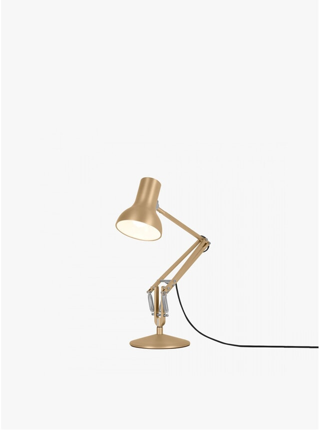 Gold Lustre 75 Mini Metallic Lamp