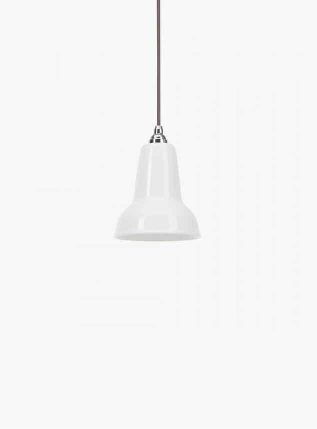 White Ceramic 1227 Mini Pendant Light