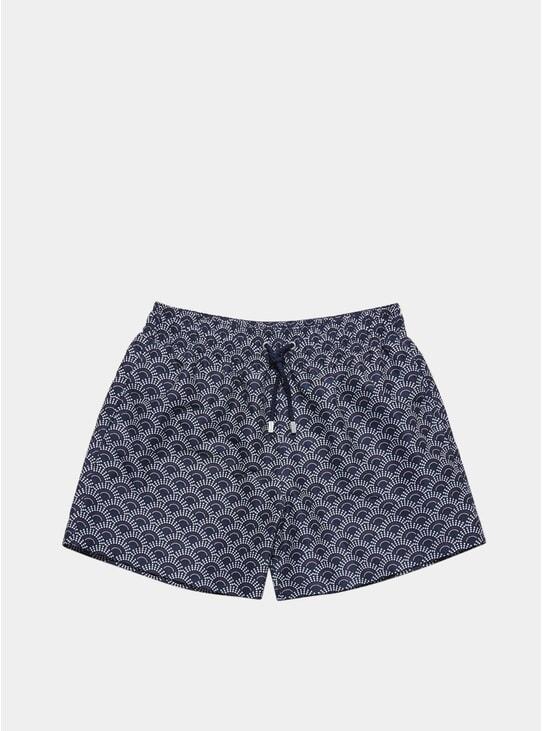 Dark Blue Ecume Swim Shorts