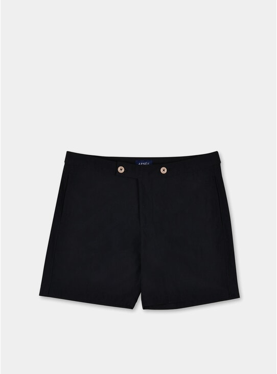 Black Enzo Swim Shorts