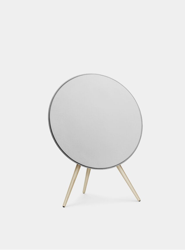 White / Maple Wood Beoplay A9 Speaker