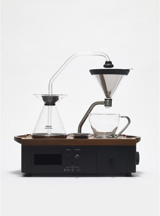 Black Barisieur Coffee Alarm Clock