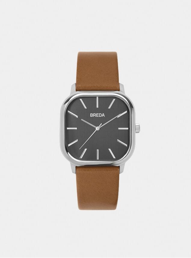 Silver / Brown Visser Watch