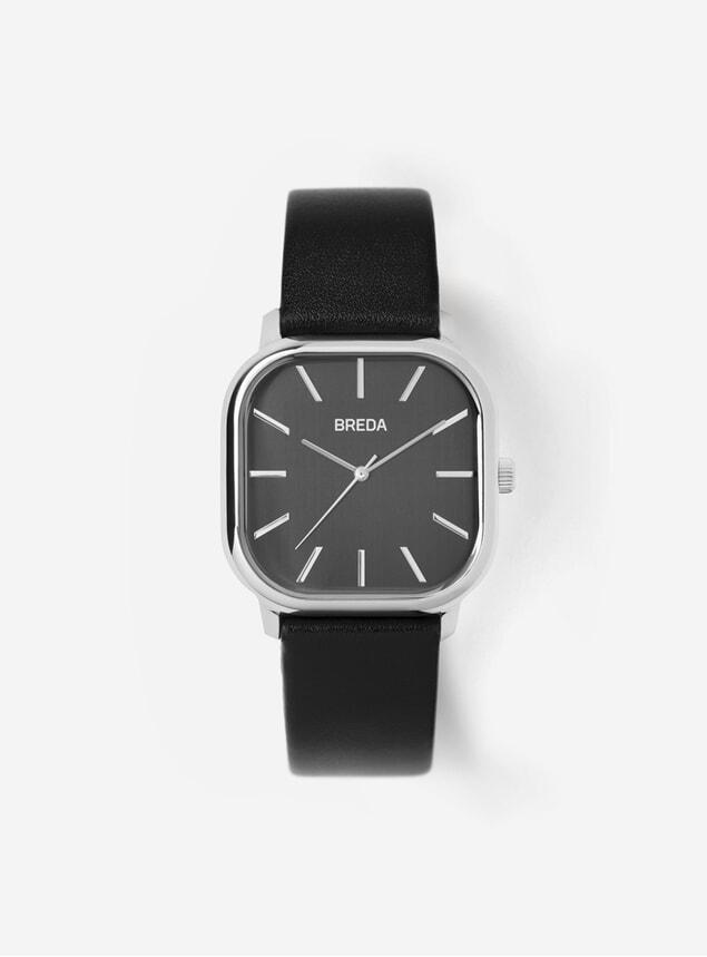 Black / Silver Visser Watch