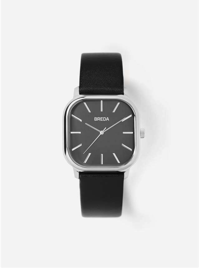 Black / Silver Visser Watch
