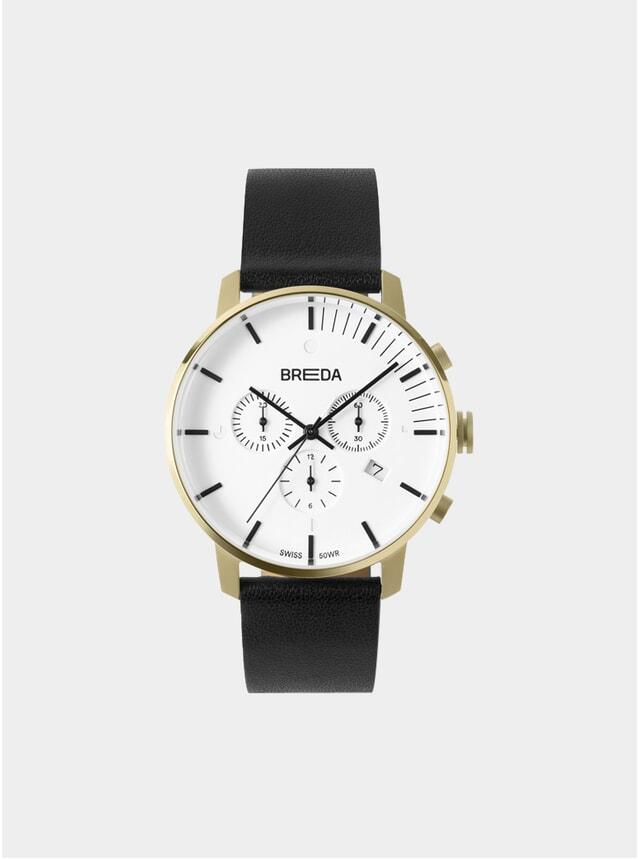 Gold / Black Phase Chronograph Watch