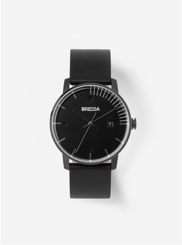 Triple Black Phase Watch