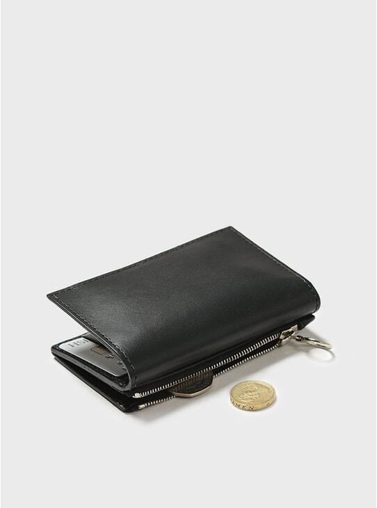 Black Simple Slim Wallet