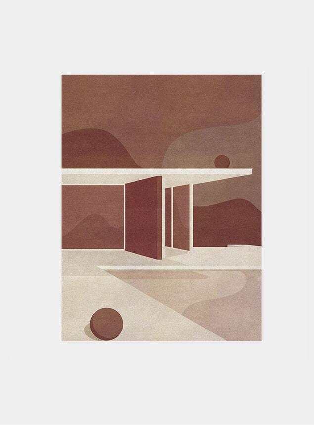 The Barcelona Pavilion, Part I Print