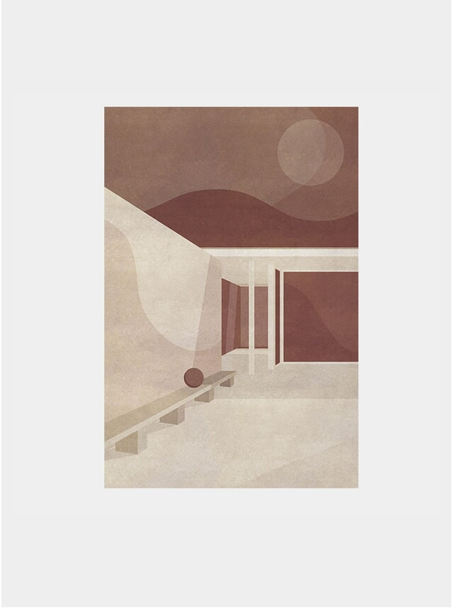 The Barcelona Pavilion, Part II Print