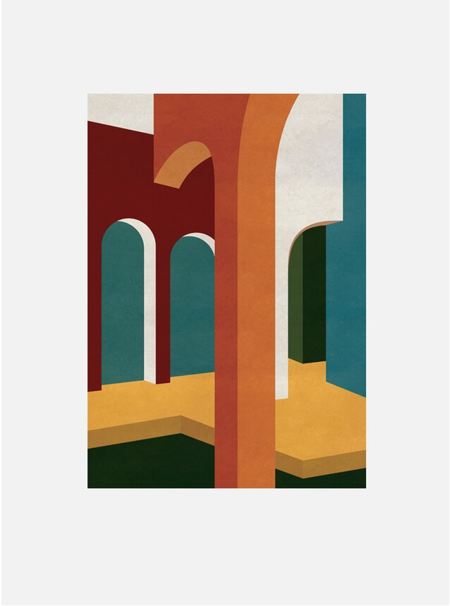 Arched Interior Print