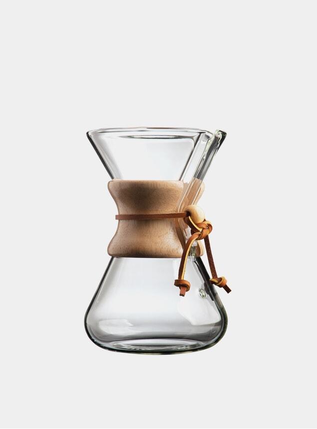 5 Cup Glass Handblown Drip Coffee Maker