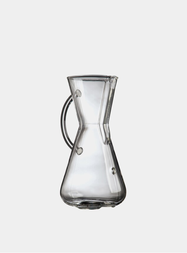 Glass Handle Series 3 Cup Coffee Maker