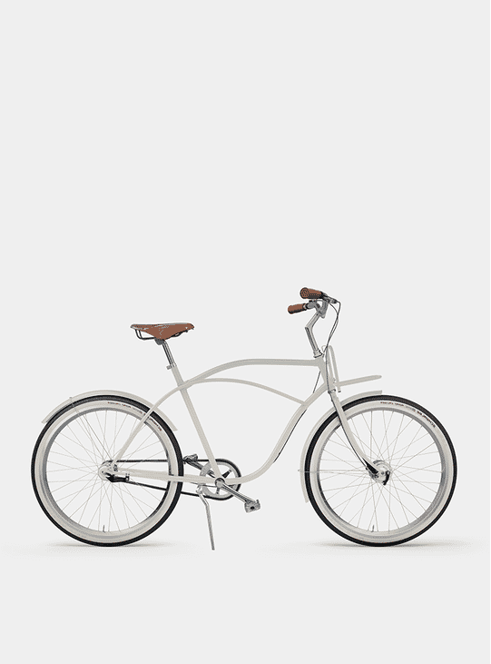 Creamy Beige Beach Cruiser Bicycle