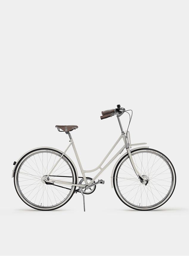 Creamy Beige Lady Cruiser Bicycle
