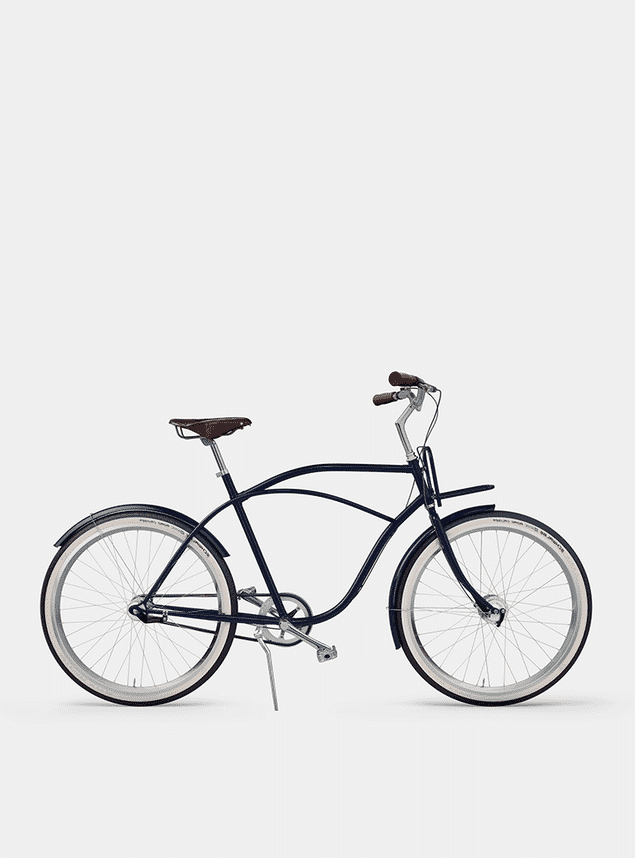 Deep Blue Beach Cruiser Bicycle