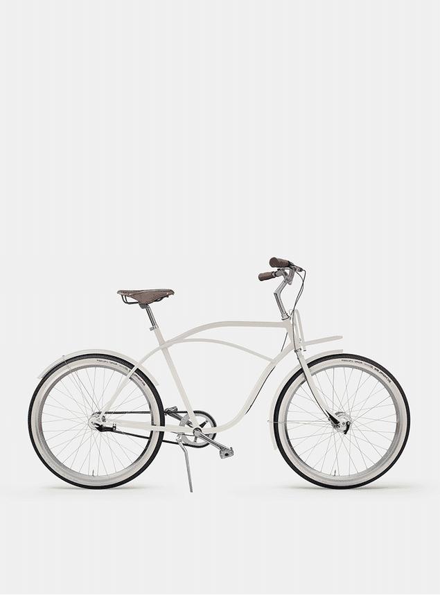 Ivory White  Beach Cruiser Bicycle