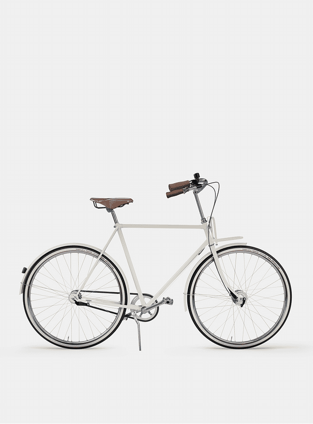 Ivory White City Cruiser Bicycle