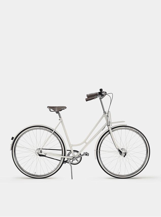 Ivory White Lady Cruiser Bicycle