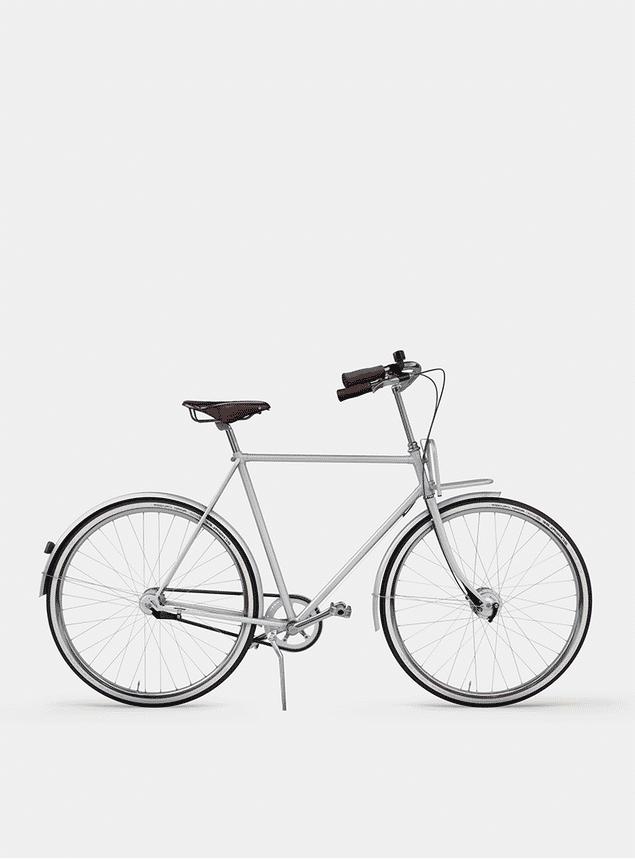 Metallic Grey  City Cruiser Bicycle