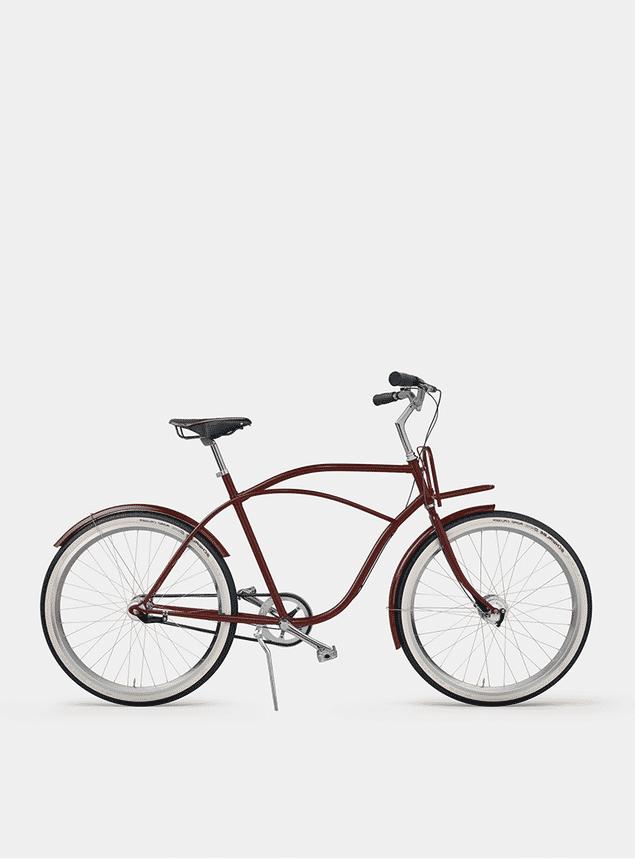 Rusty Red Beach Cruiser Bicycle