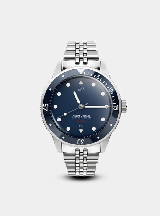 Steel / Blue 1926 At'sea Watch