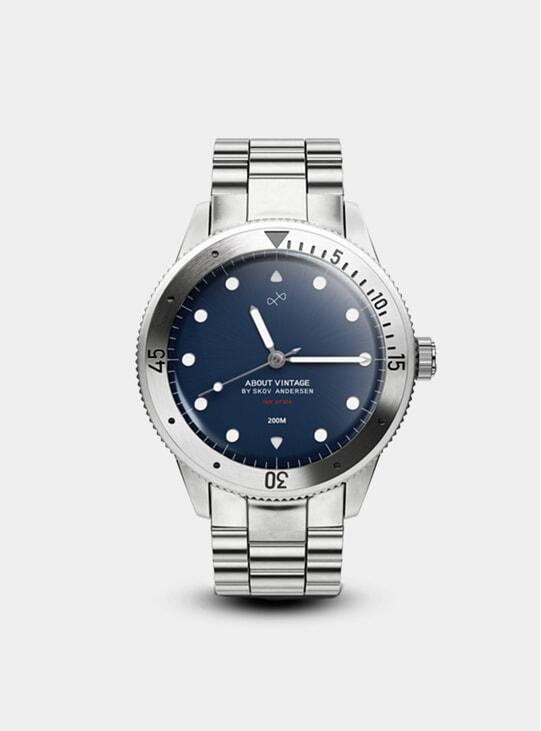 Steel / Steel Blue 1926 At'sea Watch