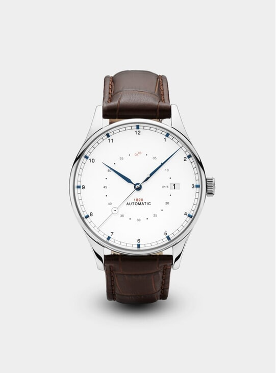 Steel / Two Toned 1820 Automatic Watch