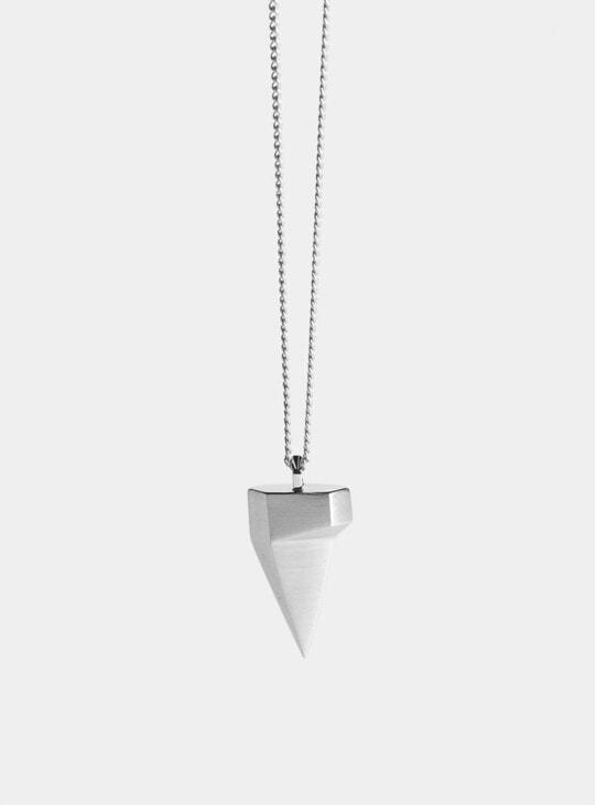 Silver Komodo Claw Pendant
