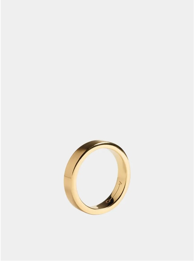Gold 5mm Ring