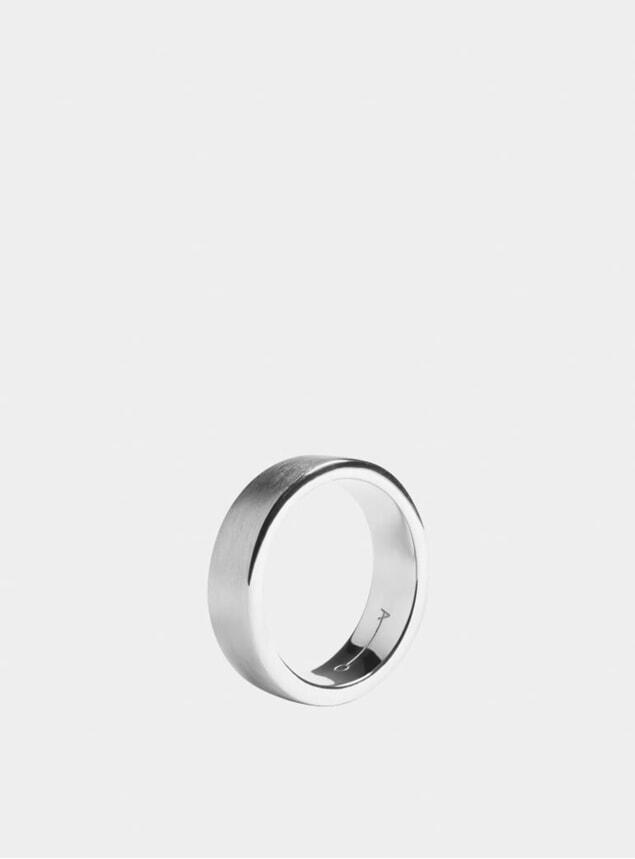 Silver 7mm Ring