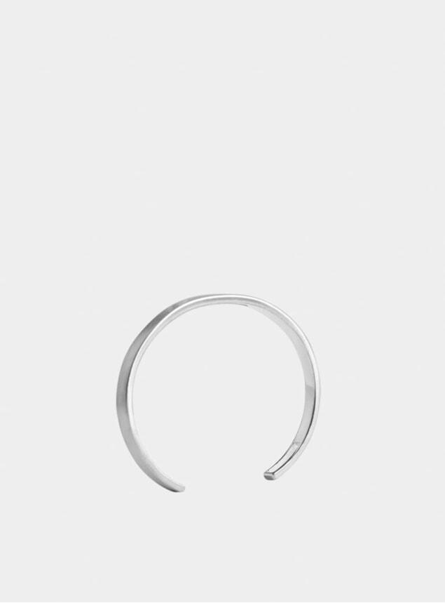 Silver Outline Cuff