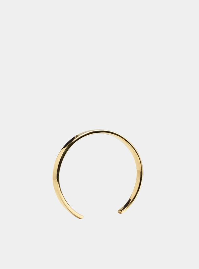 Gold Polished 5mm Cuff