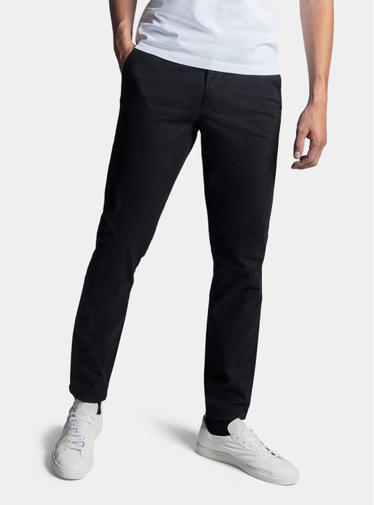 Black Chino Trousers