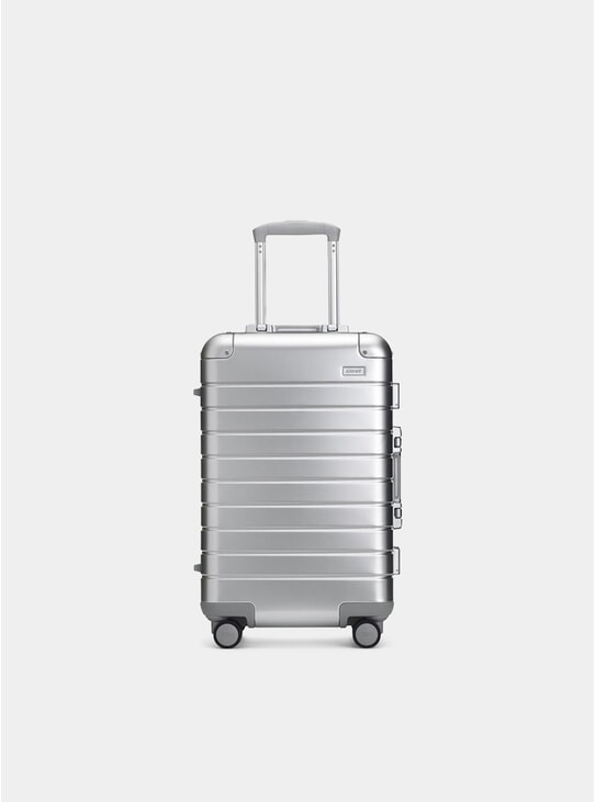 Aluminium Edition The Bigger Carry-On Suitcase
