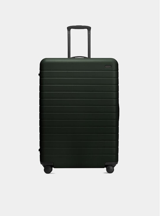 The Green Large Suitcase