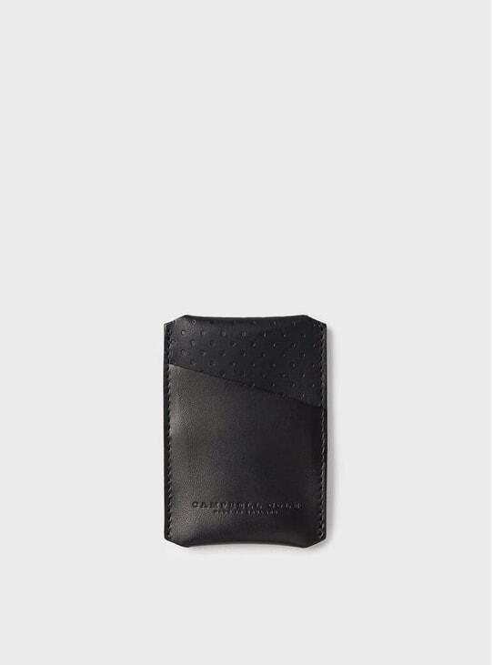 Black Simple Card Holder
