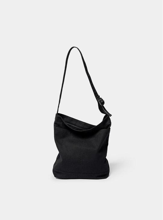 Black O Tote Bag