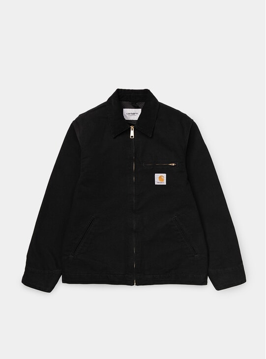 Black Rinsed Detroit Jacket