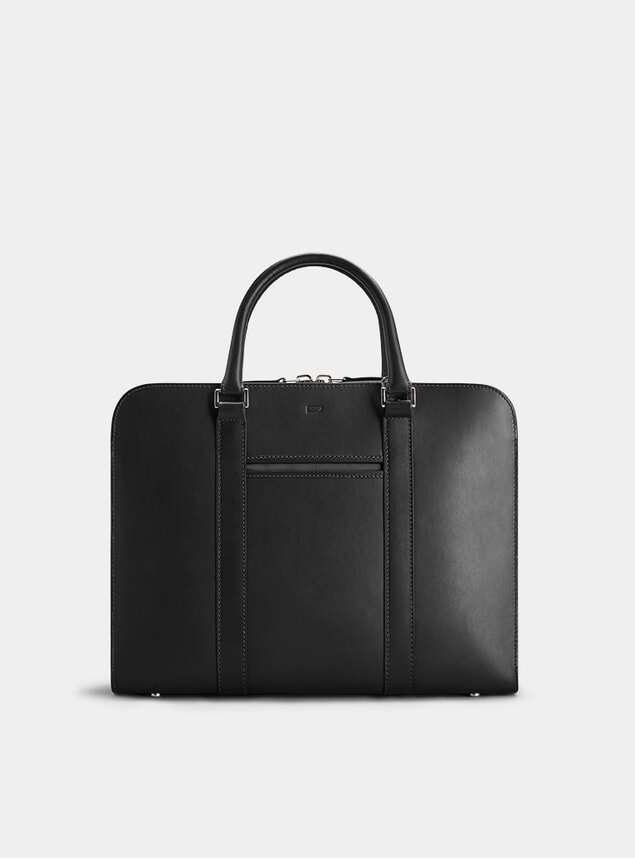 Black / Grey Palissy Briefcase