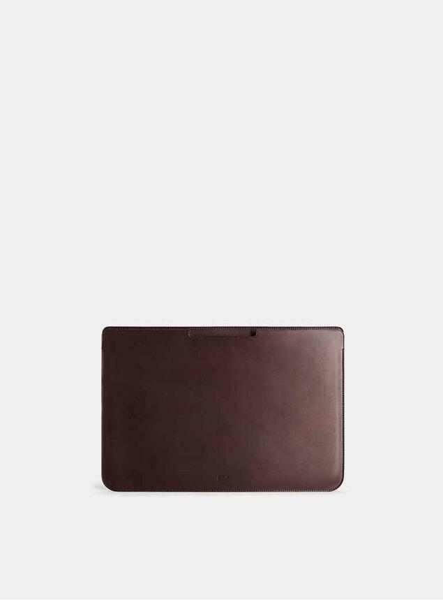 "Chocolate 15"" Walton MacBook Pro Sleeve"