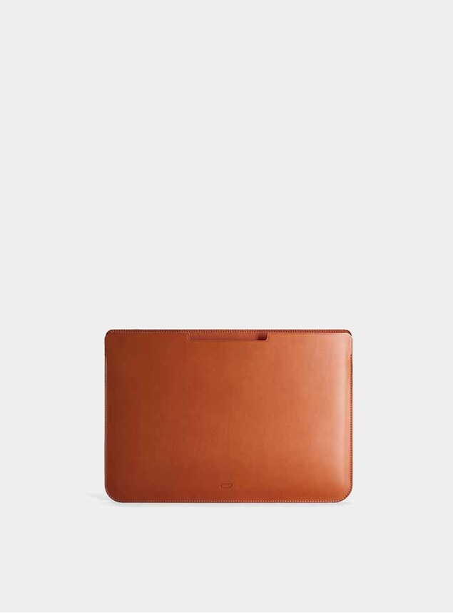 """Cognac 12"""" Walton MacBook Pro Sleeve"""