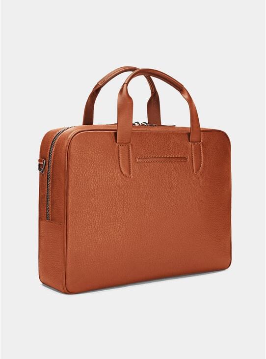 Cognac Bolton Briefcase