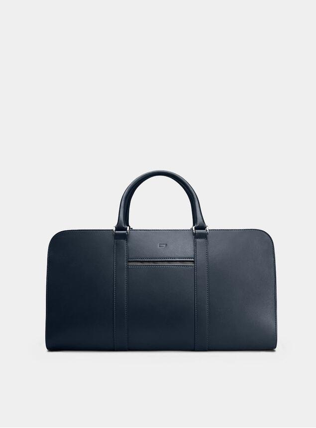Navy / Grey Palissy Weekend Bag
